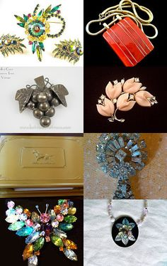 vintage fashions and jewelry!