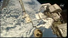 Astronauts Wrap Up Third Spacewalk for Cosmic Particle Detector Repairs – Space Station