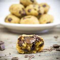 Healthy Chocolate Chip Cookie Bites? Yes, it is possible! Believe me, you won't be wanting any other cookies after you've tried these.These little bundles of joy have a soft core with melted chocolate and a slightly crunchy outside – so good! They are boyfriend and kids approved as they were gone in one sitting, that's...Read More »