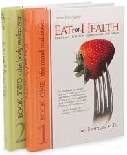 Eat For Health by Dr. Joel Fuhrman  Good information!  Eating to prevent illness makes perfect sense.