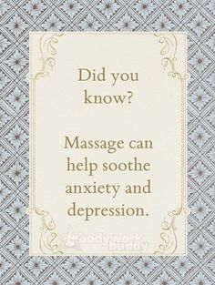 Visit www.selfendearment.com to learn more about Massage Therapy and how it can help you.