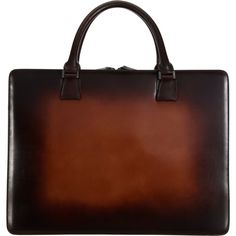 Araldi 1930 Burnished Double Handle Briefcase