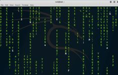The original Matrix screen saver effect for your Kali Linux terminal. Cmatrix is written in ncurses under Linux, and should compile on other OSes with few modifications. It Network, Linux, Coding, Technology, Tech, Tecnologia, Linux Kernel, Programming
