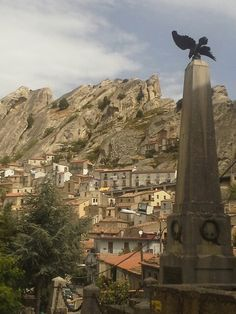 Pietrapertosa, Potenza #basilicata #landscape #italy #italia #lucania #matera #potenza #mountains #montagne #sea #mare #pietrapertosa