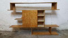 Stylowa szafka z polkami Bytom - image 1