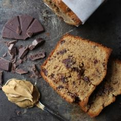 The classic flavors of peanut butter and chocolate in a pound cake. The perfect sidekick for your cuppa joe.