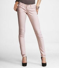 Blush skinnies! Getting for my Bday! :D @Anastasia They're at EXPRESS right now!!