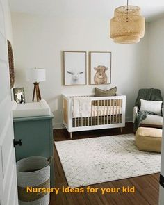 Fantastic baby nursery info are readily available on our web pages. Check it out and you wont be sorry you did. Baby Boy Nursery Decor, Nursery Neutral, Baby Boy Nurseries, Baby Room, Nursery Ideas, Nursery Rugs, Budget Nursery, Room Ideas, Bear Nursery