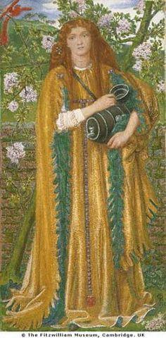 Golden Water  Alternately titled: Princess Parisadé  Dante Gabriel Rossetti  1858