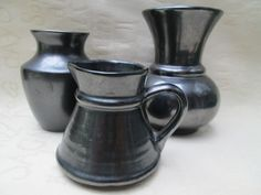 3 x Beautiful PRINKNASH Pottery Pieces