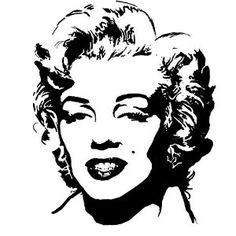 Marilyn Monroe Silhouette 2