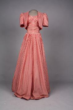 Dress and bolero, 1938-39. #1930sfashion