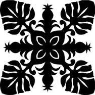 hawaiian quilt pattern free - Google Search