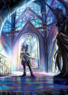 Castle Elias's hall of magic Kuja