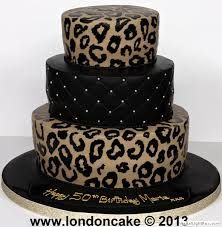 Leopard and Black cake