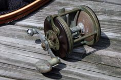 Vintage Salt Water Fishing Reel