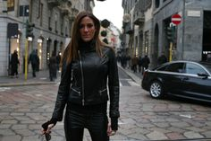 Fashion leather jackets, now on sale!  #fashion #leatherjackets #leather #designerfashion #designer #italian #sale #styleforless