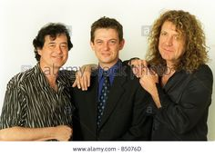 Jimmy Page Former Lead Guitarist With Robert Plant Former Lead Singer Stock Photo, Picture And Royalty Free Image. Pic. 20289317