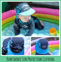We tried out the Konfidence Sun Protection Suit and Hat and were really impressed with the design and comfort, as well as the all important UV protection. Go Bananas, Sun Protection, Suits, Clothing, Outfits, Wedding Suits, Sunscreen, Dresses, Clothes