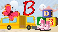 Learn About The Letter B - Preschool Activity