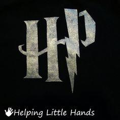 Helping Little Hands: DIY Harry Potter Shirt - Freezer Paper Stencil