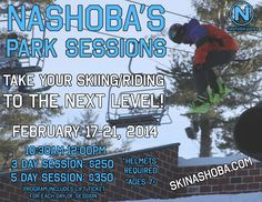 New for the 2014 Season! Nashoba's Park Sessions