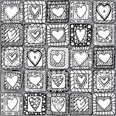 Valentines Day Coloring Pages for Adults – coloring. Heart Coloring Pages, Colouring Pages, Printable Coloring Pages, Free Coloring, Coloring Pages For Kids, Coloring Books, Valentines Day Coloring Page, Valentines Art, Printable Valentine