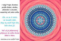 Mandala Přijmi do života štěstí a lásku Beach Mat, Outdoor Blanket, Tapestry, Hanging Tapestry, Tapestries, Needlepoint, Wallpapers, Rug Hooking