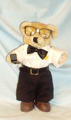 Computer Geek Bear