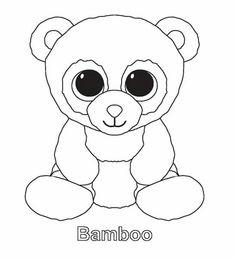 30 Beste Afbeeldingen Van Ty Beanie Kleurplaten Beanie Boo Party
