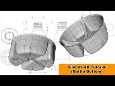 Bottle Bottom (Cinema 4D Tutorial) - YouTube