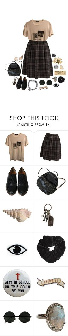 """this could be heaven and this could be hell."" by flowersoflife ❤ liked on Polyvore featuring Dolce&Gabbana, AllSaints, Goodordering, Miss Selfridge and Bettina Duncan"