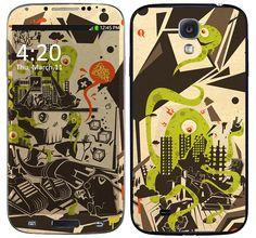 Skin Celular Alien Samsung Galaxy S4