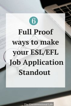 Find out how to apply for TEFL, TESOL, EFL, ESL jobs to sell yourself as the best applicant! Tips and advice about how to create a professional ESL/EFL application to send to recruiters and companies to help you get the best TEFL job.