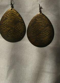 Kupuj mé předměty na #vinted http://www.vinted.cz/doplnky/nausnice/8736094-kapkovite-mosazne-nausnice