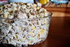 Salad Recipes, Diet Recipes, Cooking Recipes, Healthy Recipes, Polish Recipes, Bon Appetit, Food Inspiration, Food And Drink, Yummy Food