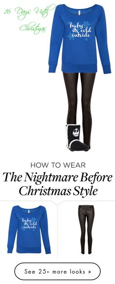 """""""Christmas Countdown"""" by kayla3n on Polyvore featuring Paige Denim"""