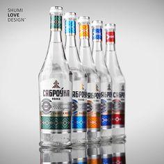 "Vodka ""Сяброука"" on Packaging Design Served"