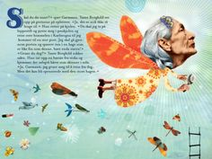 Garmann-bøgerne af Stian Hole er illustreret i en eventyrlig collage-stil.    Klik for gennemgang på http://borneboger.nu