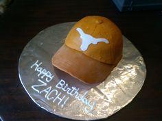 Texas Longhorns Hat Birthday Cake
