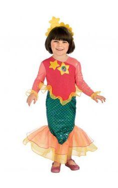 Disfraz de Dora la Exploradora sirena para niña