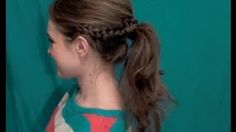 Perfect Back to School Ponytail!
