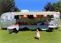 Ophelia's Birthday Carnival #birthday #carnival #airstream