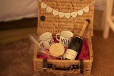 A luxury hamper is provided in the bridal bell tent for the happy couple. Tent Hire, Luxury Hampers, Bell Tent, Parties, Couple, Boutique, Bridal, Happy, Fiestas