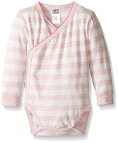 (My review of Kushies Baby Girls' Mix N Match Bodysuit Long Sleeve) -  Have some fun mixing and matching with this adorable collection of playful sleepers, tops and bottoms. Made of 95 percent cotton and 5 percent lycra, you'll love the feel of the fabric and your baby will too. This collection features soft hues, heathered yarn dye stripes and solids. Choose...