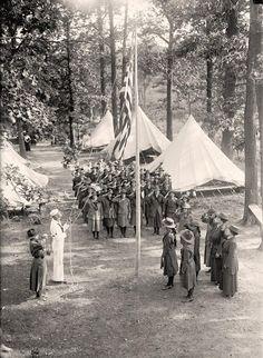 Girl Scouts 1910 Harris & Ewing