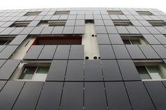 28th Street Apartments BIPV Facade by Daniel Dus, via Behance