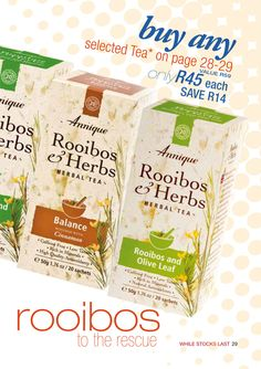 Annique | Monthly Specials ~ Rooibos-Miracle Herbal Tea, Herbalism, Herbal Medicine