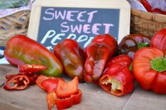 Red Peppers, Farmers Market