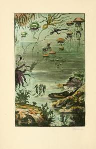 Jules Verne - Veinte mil leguas de viaje submarino, edición de Londres, 1911
